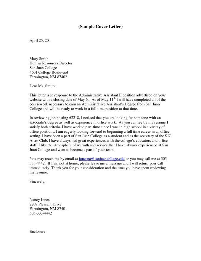 legal assistant cover letter