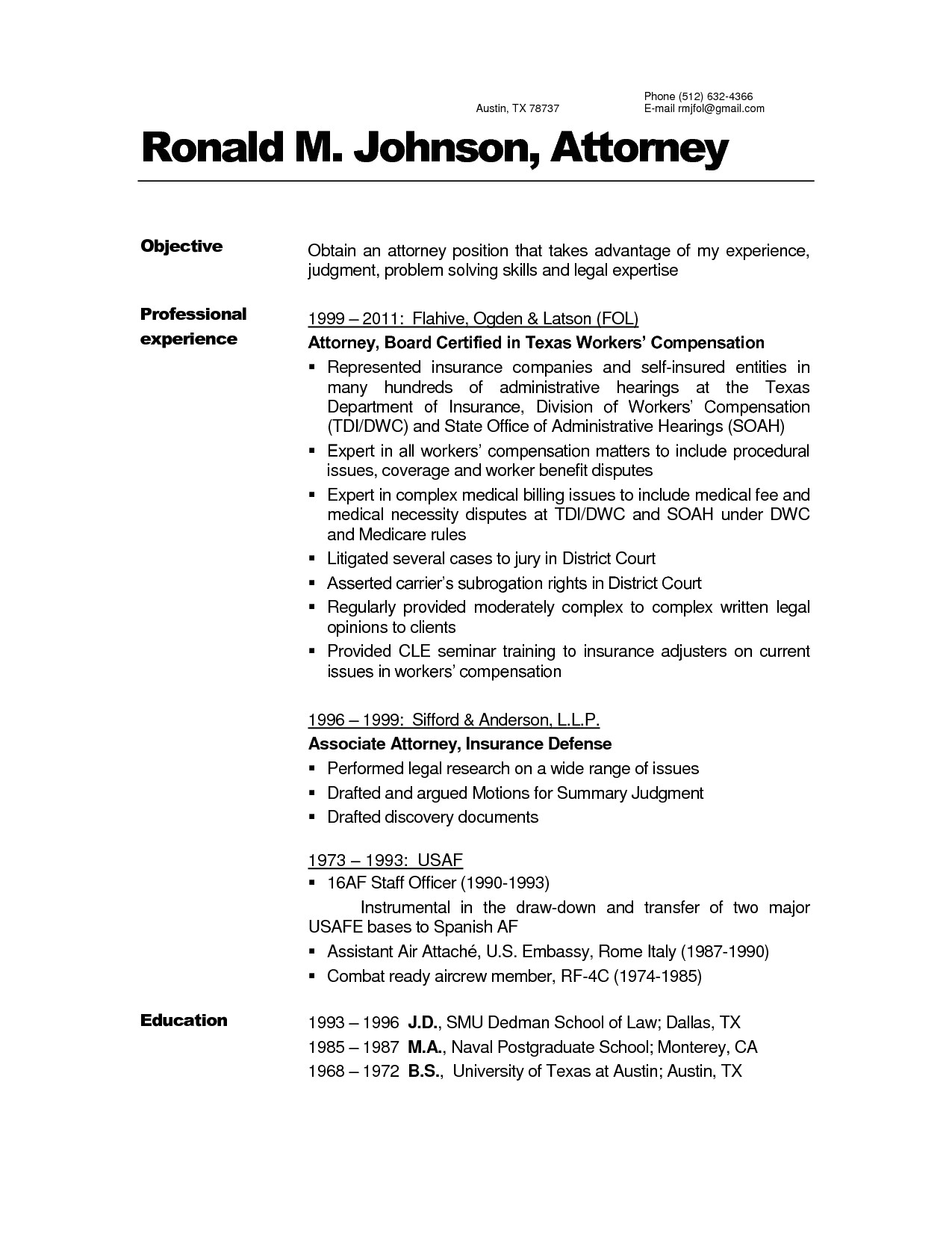 Sample In House Counsel Resume Inspirational attorney Resume Sample Resume Inspirations
