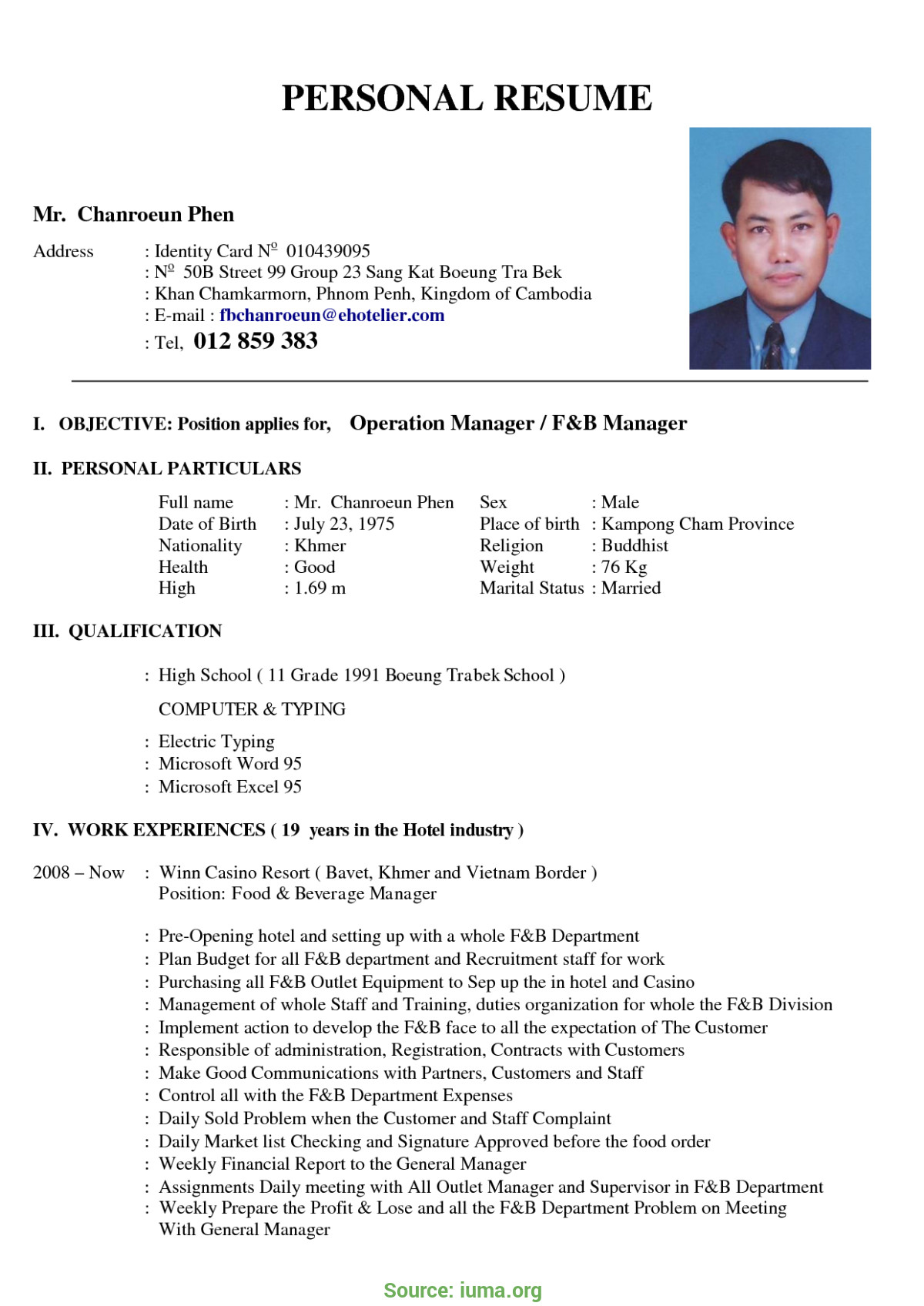 top sample career objective in resume for hotel and restaurant management job resume free restaurant manager resume examples templat