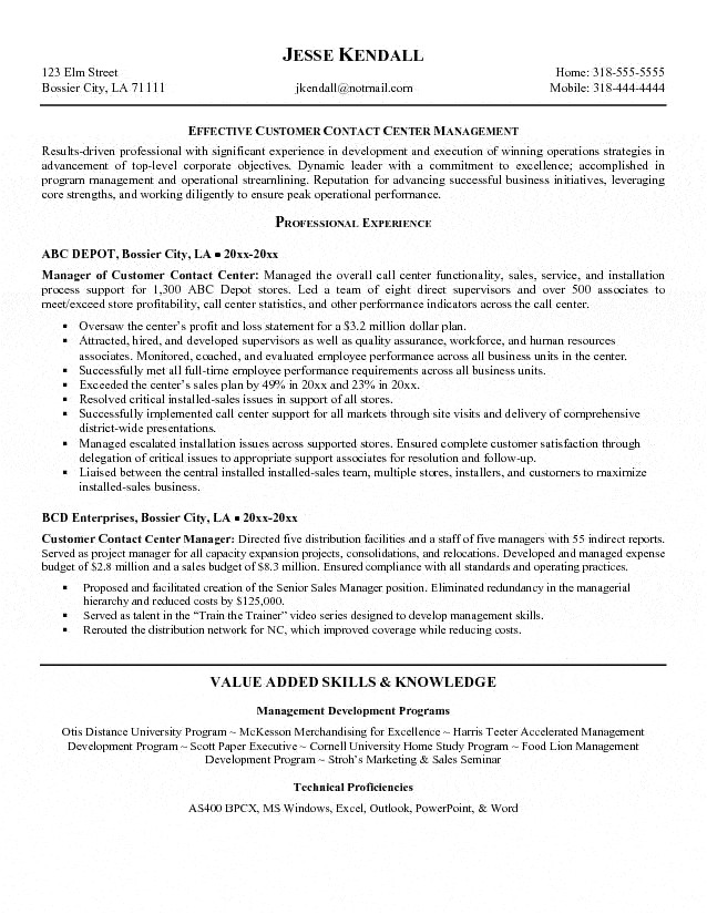 Sample Objectives In Resume for Call Center Agent Call Center Agent Resume