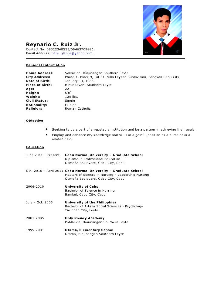 Sample Of Comprehensive Resume for Nurses Comprehensive Resume Sample Free Samples Examples
