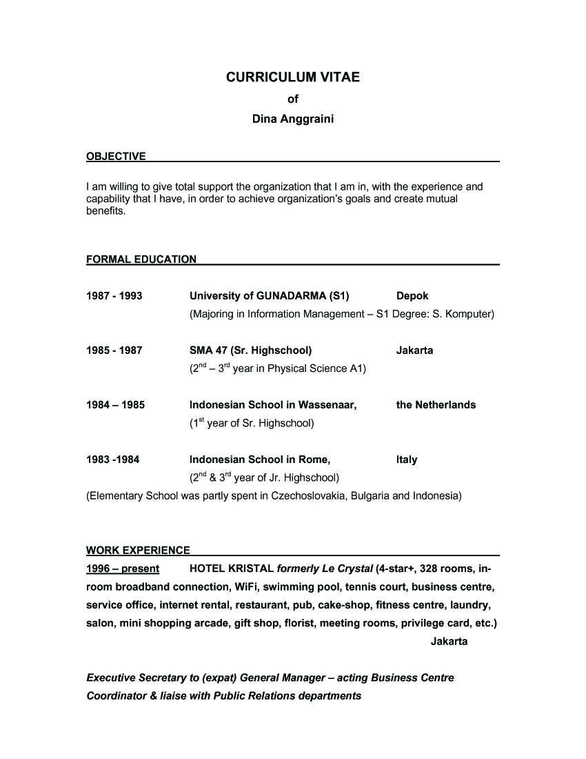 Sample Of Good Objectives In Resume Sample Resume Objective Statements General Invoice