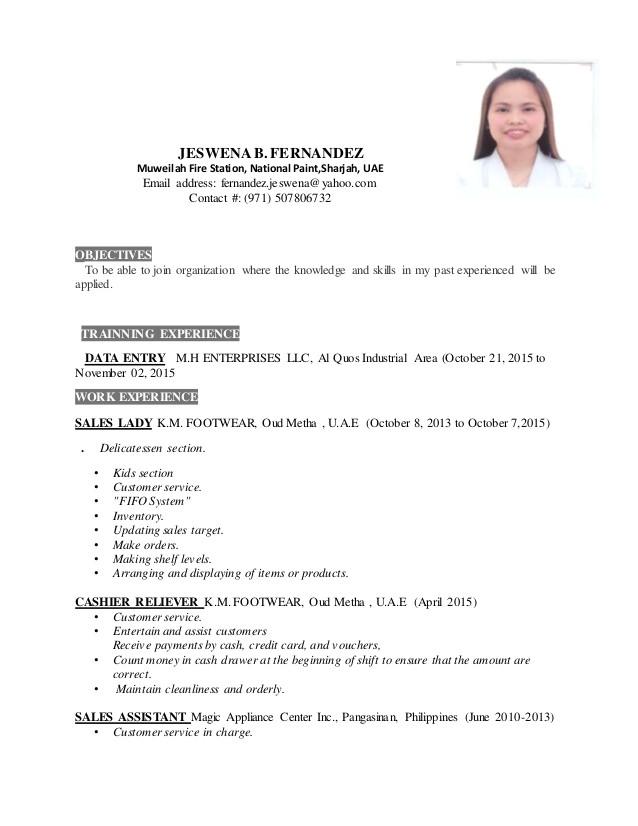 jeswena resume new 54873921