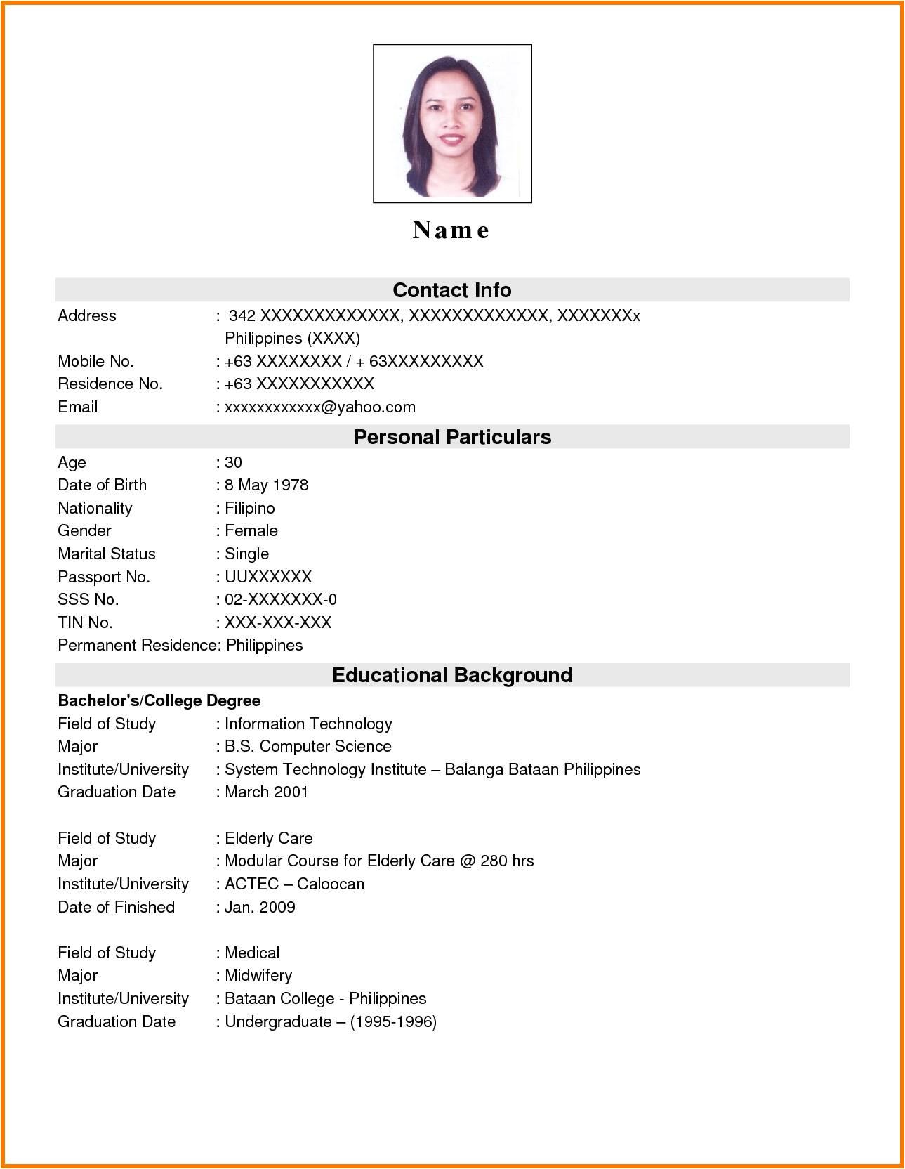 Sample Of Resume for Sales Lady Sample Resume Of Sales Lady Talktomartyb