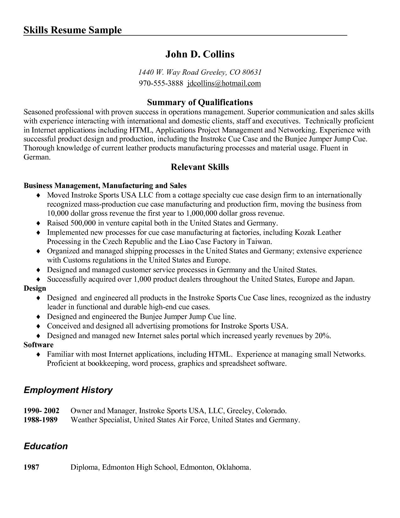post skills and abilities summary 368637