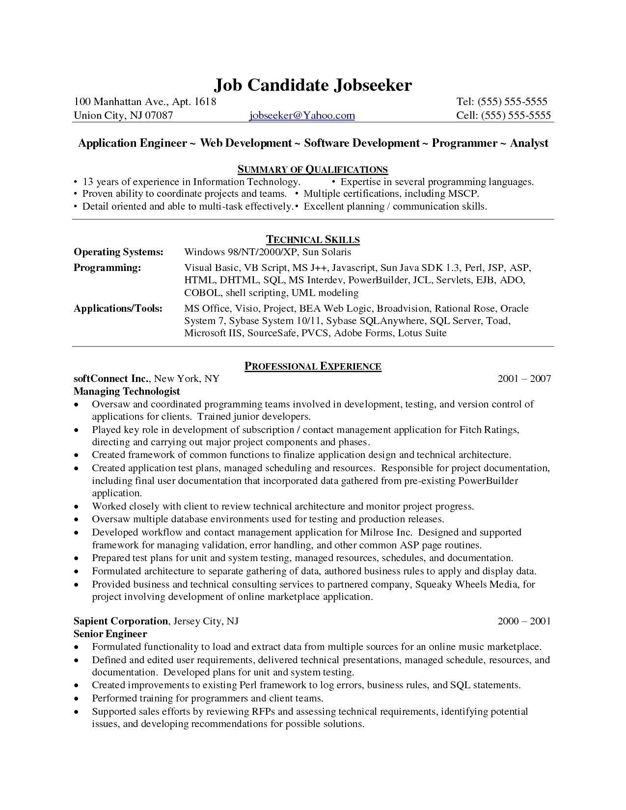 testing resume sample for 3 years experience