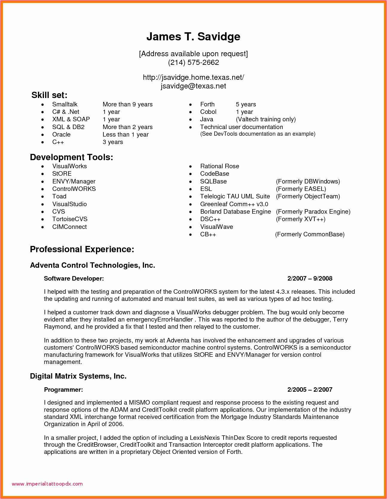 sample resume for experienced candidates in java luxury experience resume for 2 years experience in testing