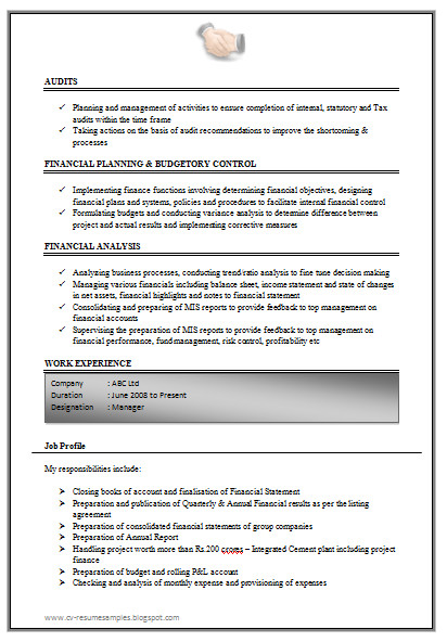 Sample Resume for Accountant with Experience Over 10000 Cv and Resume Samples with Free Download