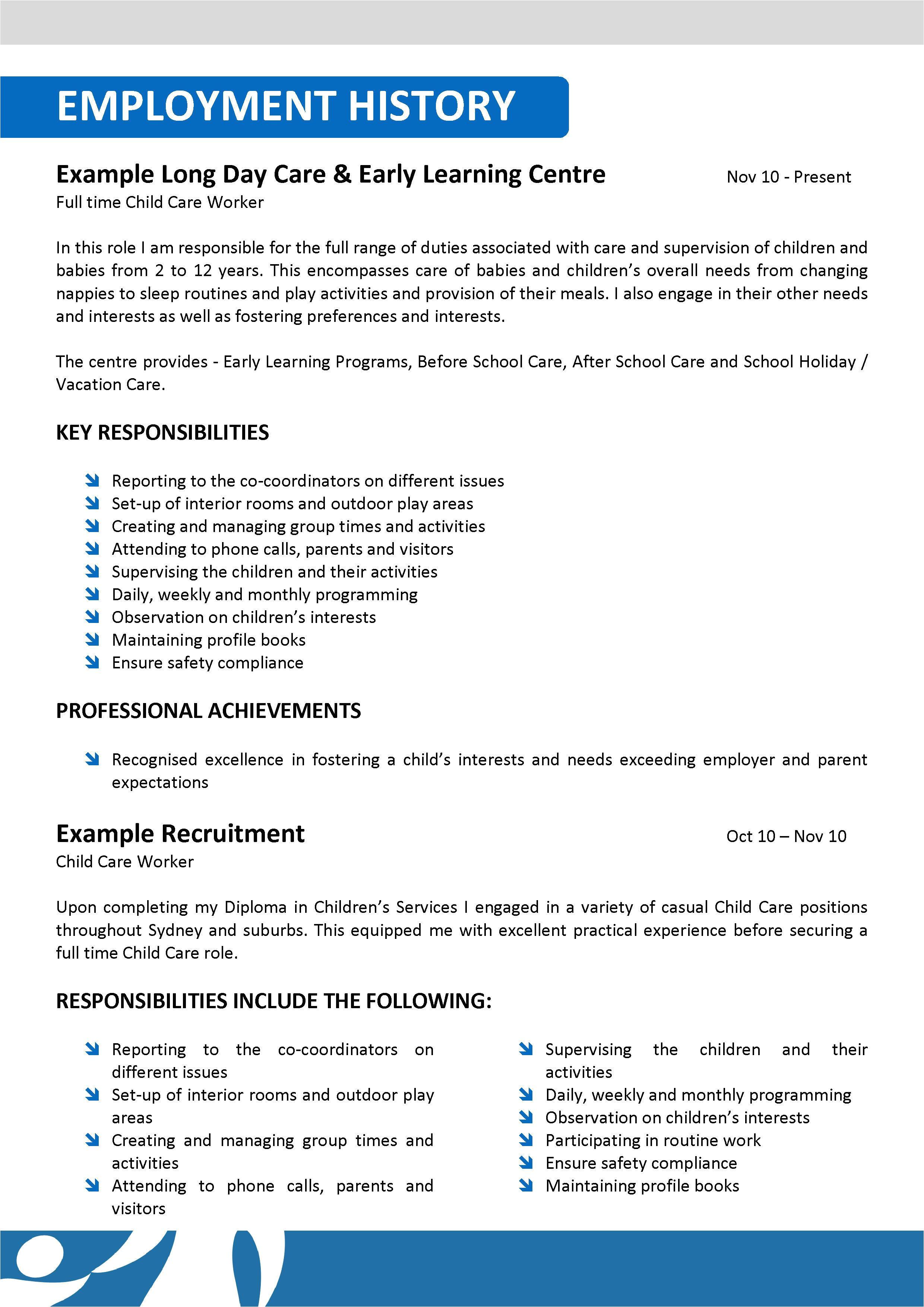 aged care nursing community resume template 005