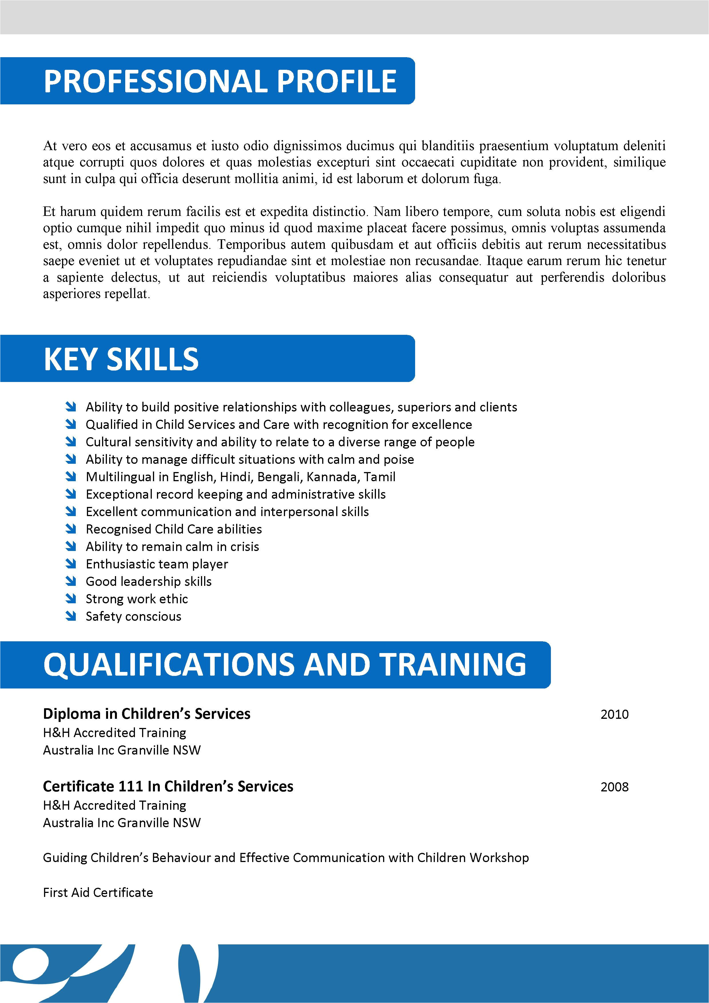Sample Resume for Aged Care Worker Position We Can Help with Professional Resume Writing Resume