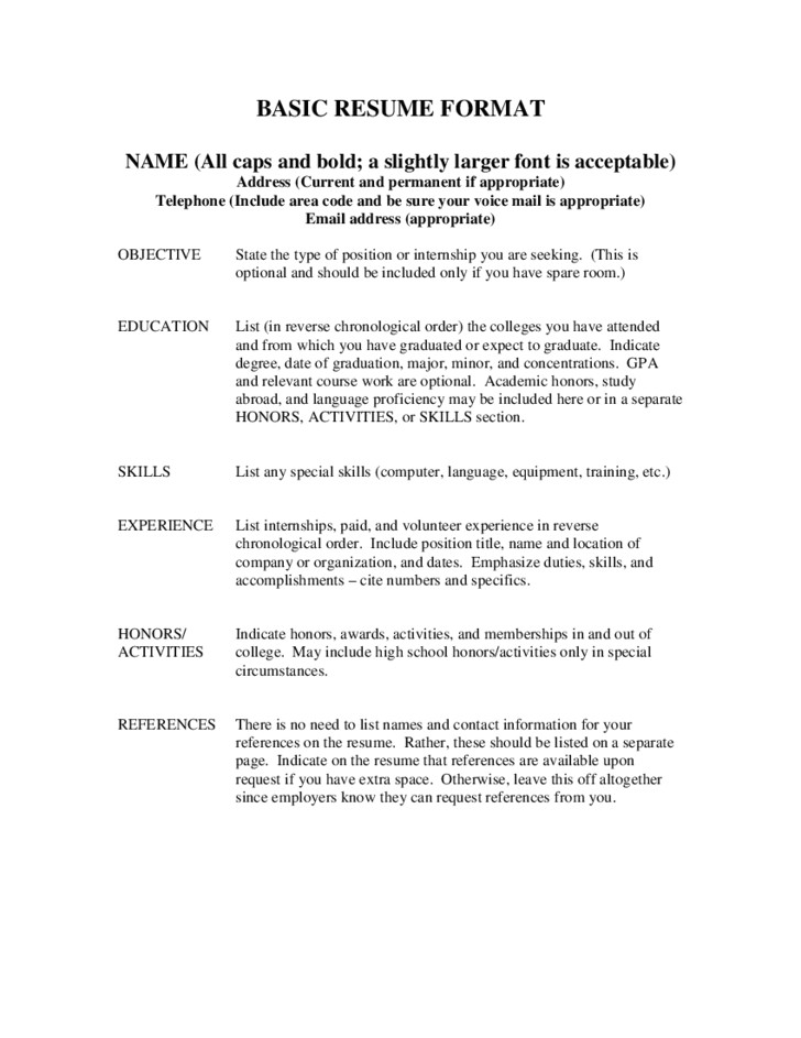 types of references for resume