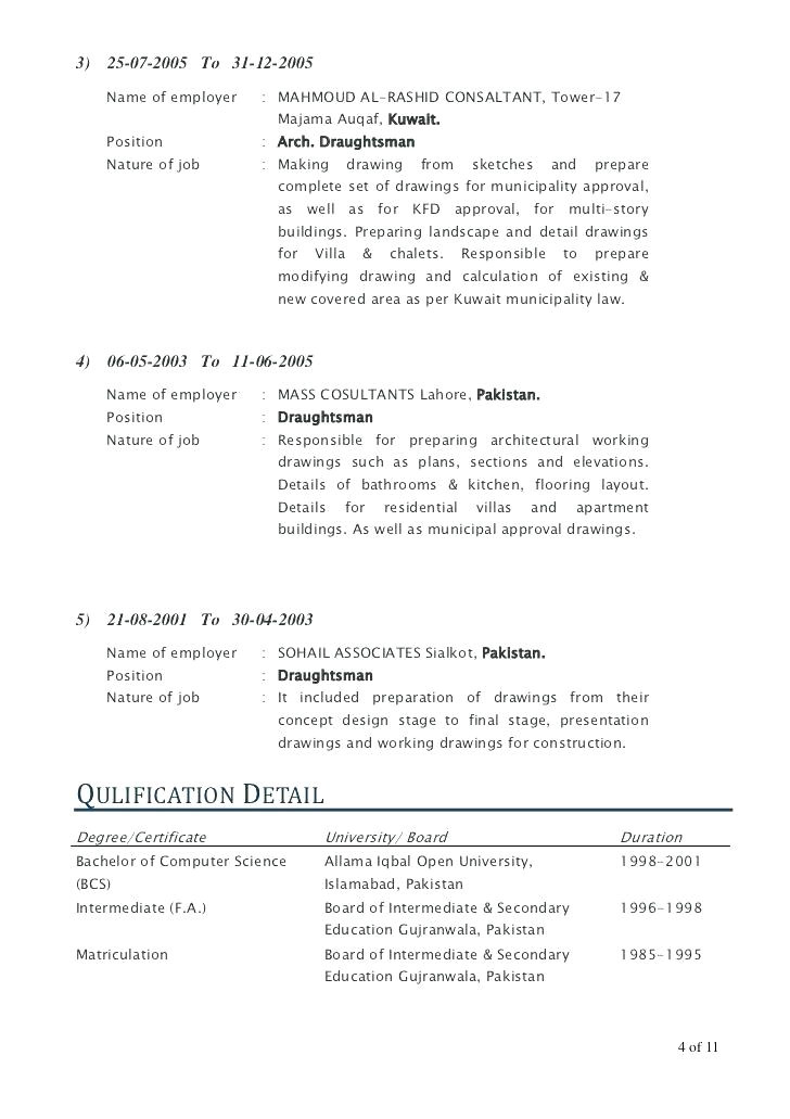 autocad drafter cover letter