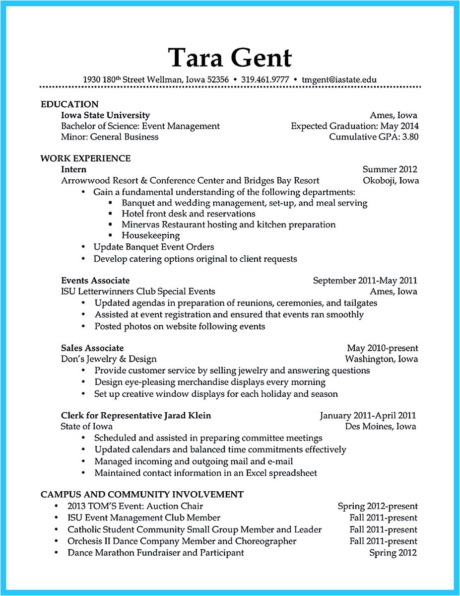 Sample Resume for Barista Position 30 sophisticated Barista Resume Sample that Leads to