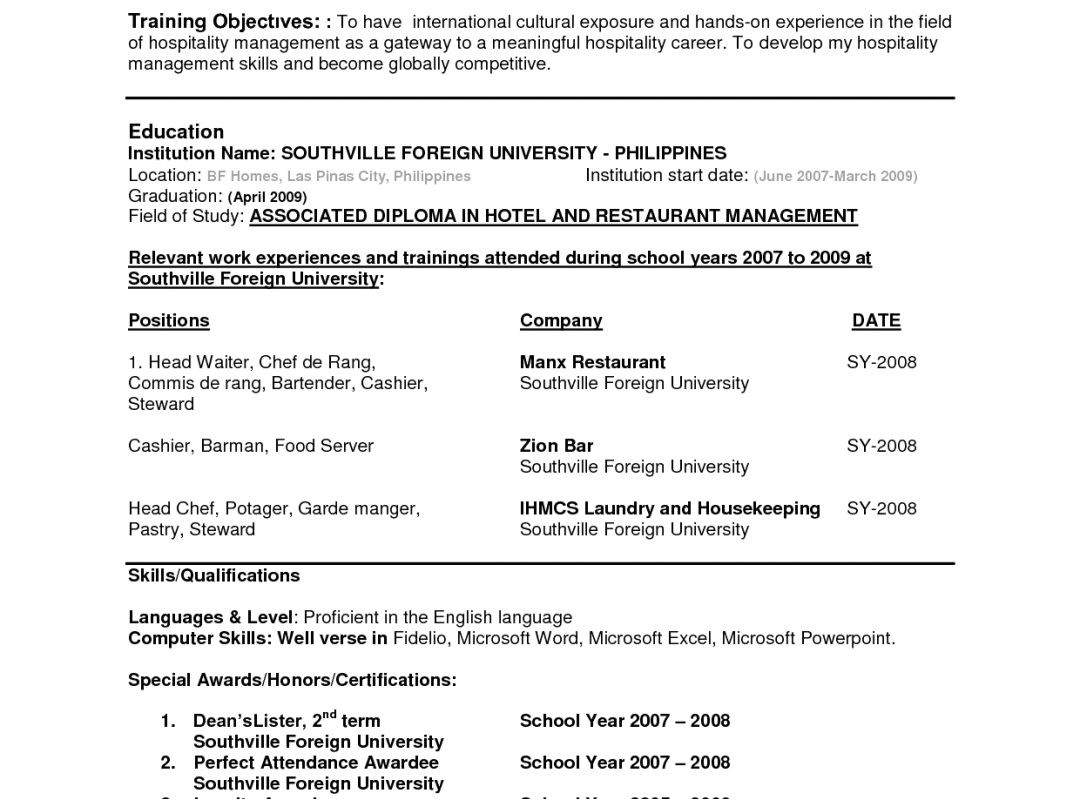 Sample Resume for Call Center Agent Applicant Sample Of Resume for Call Center Agent Applicant In the
