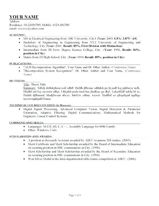 sample resume for call center agent applicant