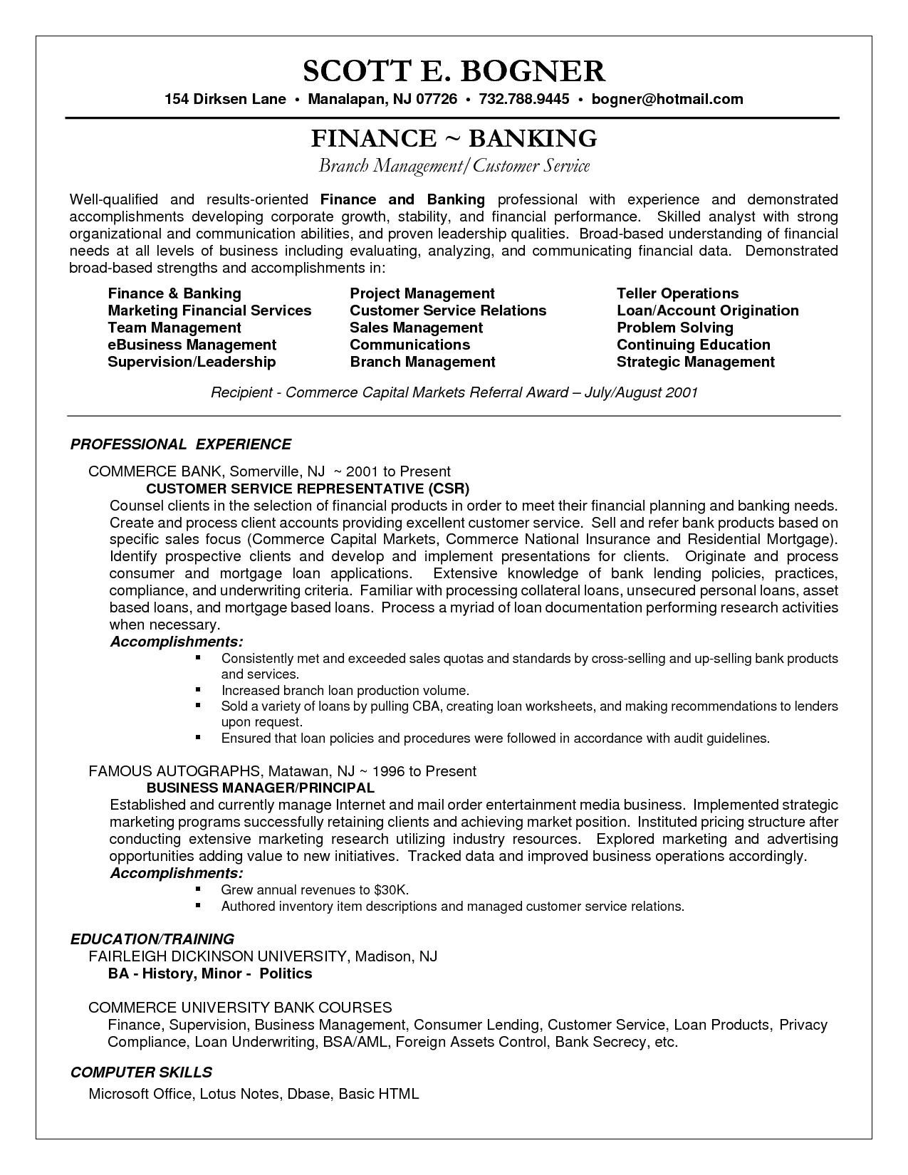 hospital customer service representative resume sample