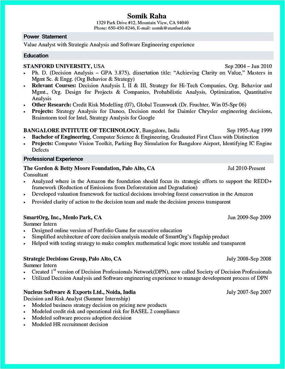 Sample Resume for Experienced Lecturer In Computer Science the Best Computer Science Resume Sample Collection