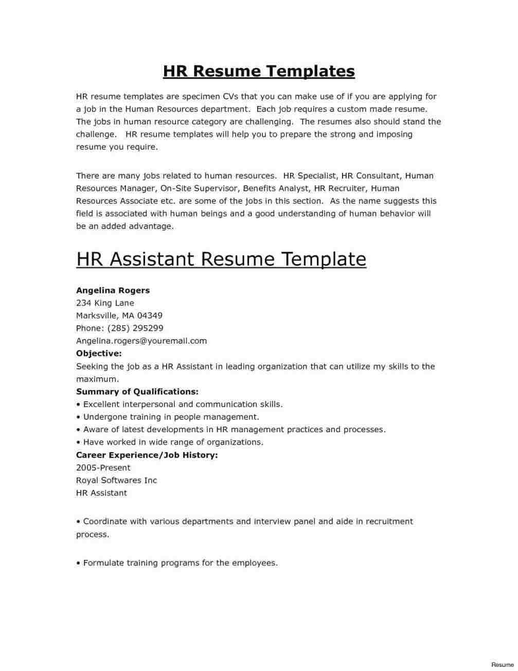 homemaker returning to work resume