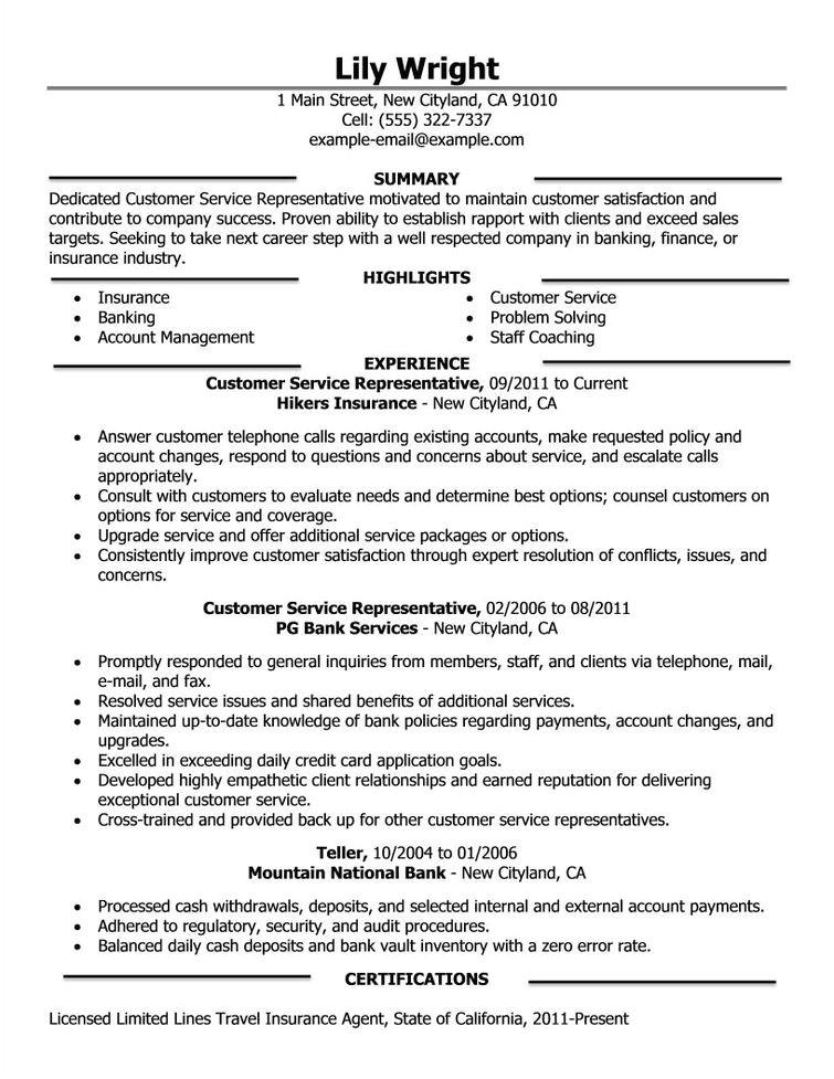 company resume example