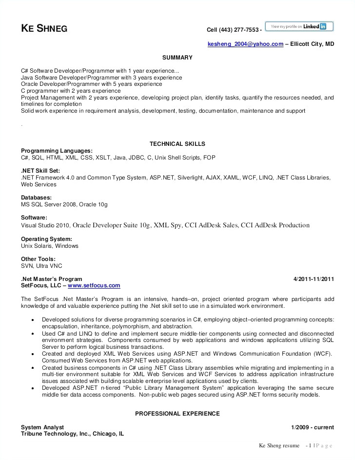 sample resume for java developer 2 year experience download 1 year experience resume format for java developer lovely sample