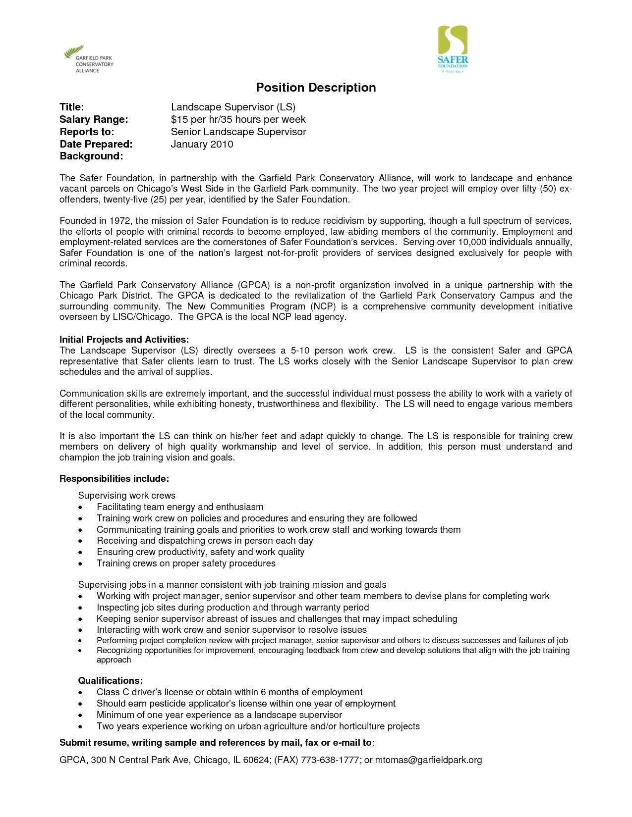 sample resume for lawn care worker best of lawn care description resume sidemcicek