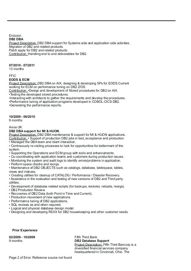 mainframe resume sample wonderful production support satiating format delicate beautiful for fresher