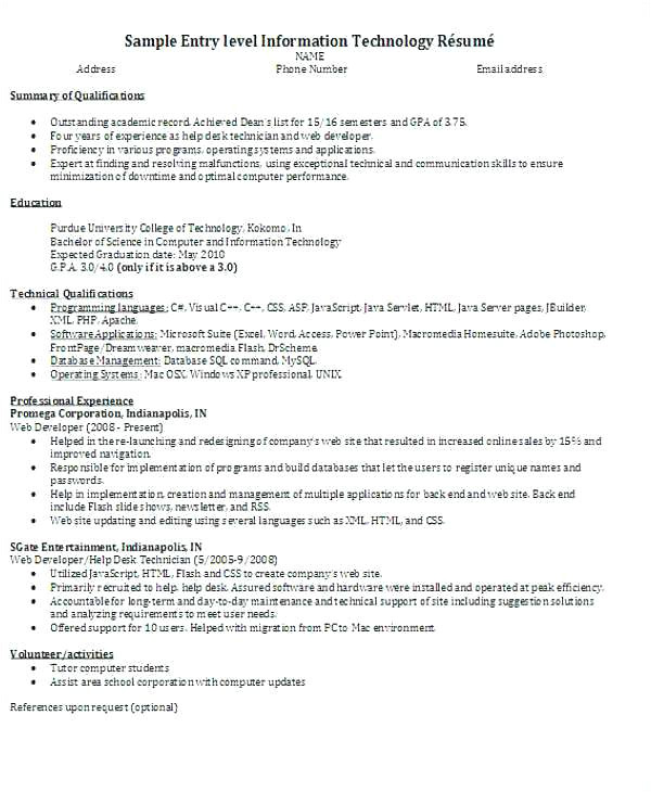 Sample Resume for Net Developer Fresher Entry Level Web Developer Resume Inspirational Fresher