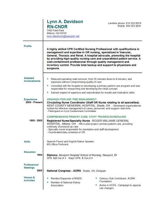 Sample Resume for Nurses Newly Graduated Sample New Grad Rn Resume Musiccityspiritsandcocktail Com