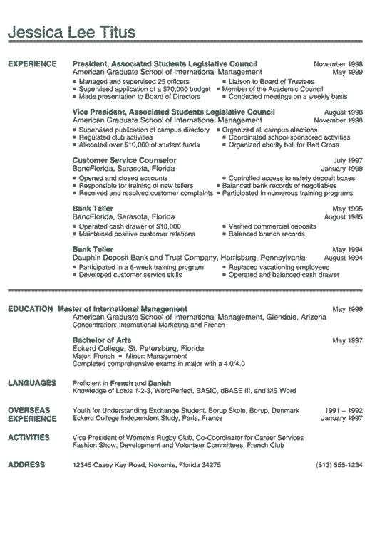 sample college resumes for high school seniors professional sample scheme from sample resume for ojt architecture student