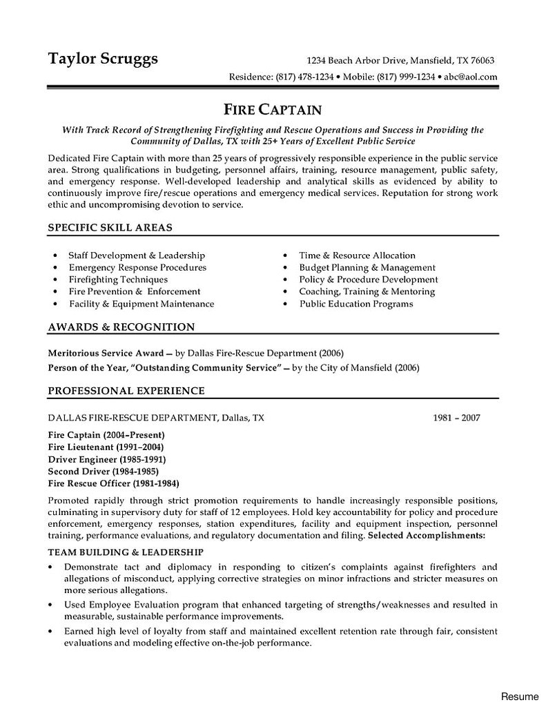 Sample Resume for Police Officer with No Experience Probation Service Officer Sample Resume Iis Administrator
