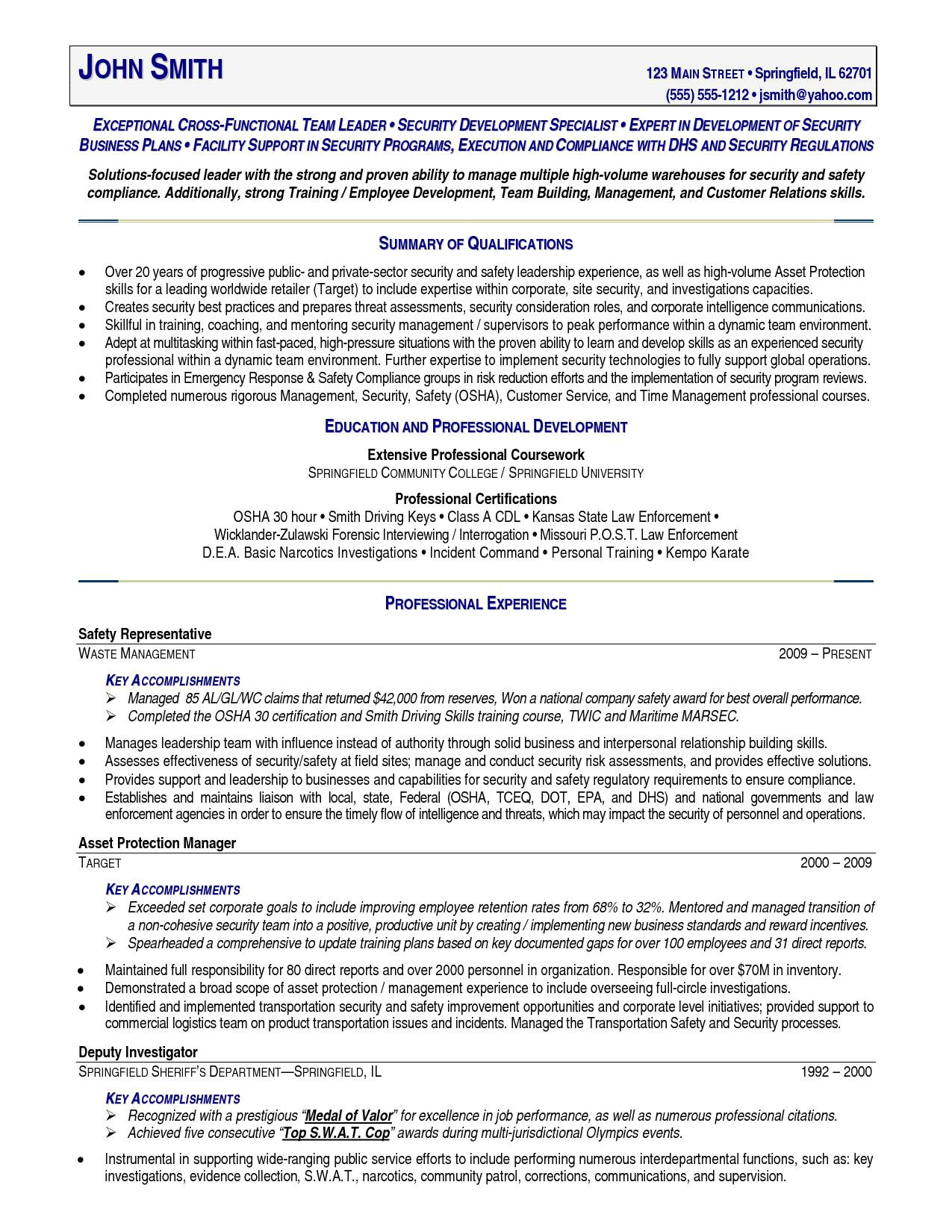 sample resume for police officer with no experience beautiful 100 police ficer resume template free