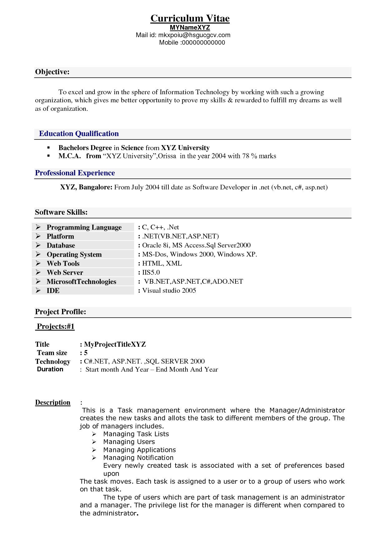 1010315322158 sample resume for software engineer with 2 years experience
