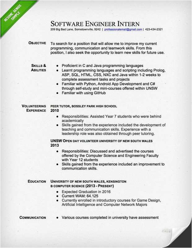 electrical engineer resume example