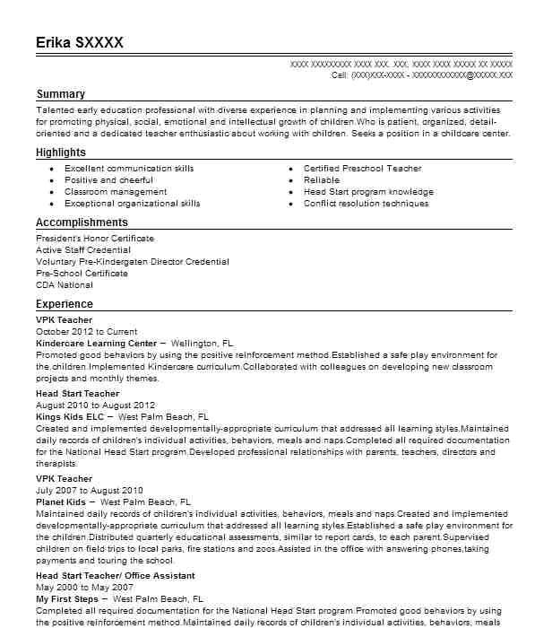resume format for teaching post
