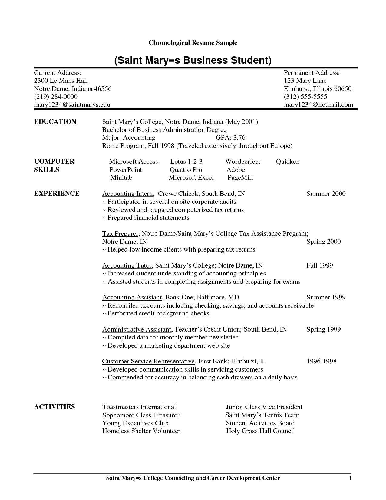 math tutor resume samples