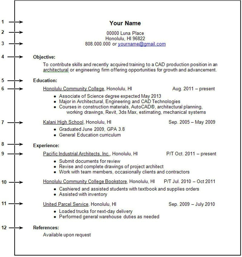 Sample Resume for Working Students with No Work Experience Resume for First Job No Experience How to Write A Resume