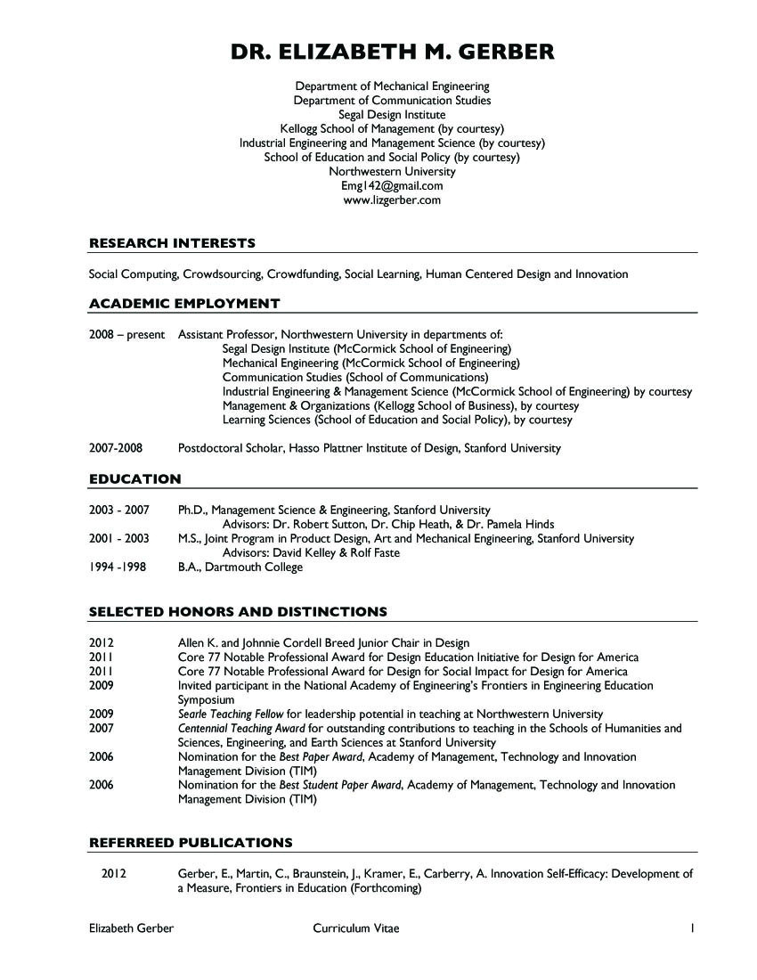 latest resume format 4 assistent proffesor in india