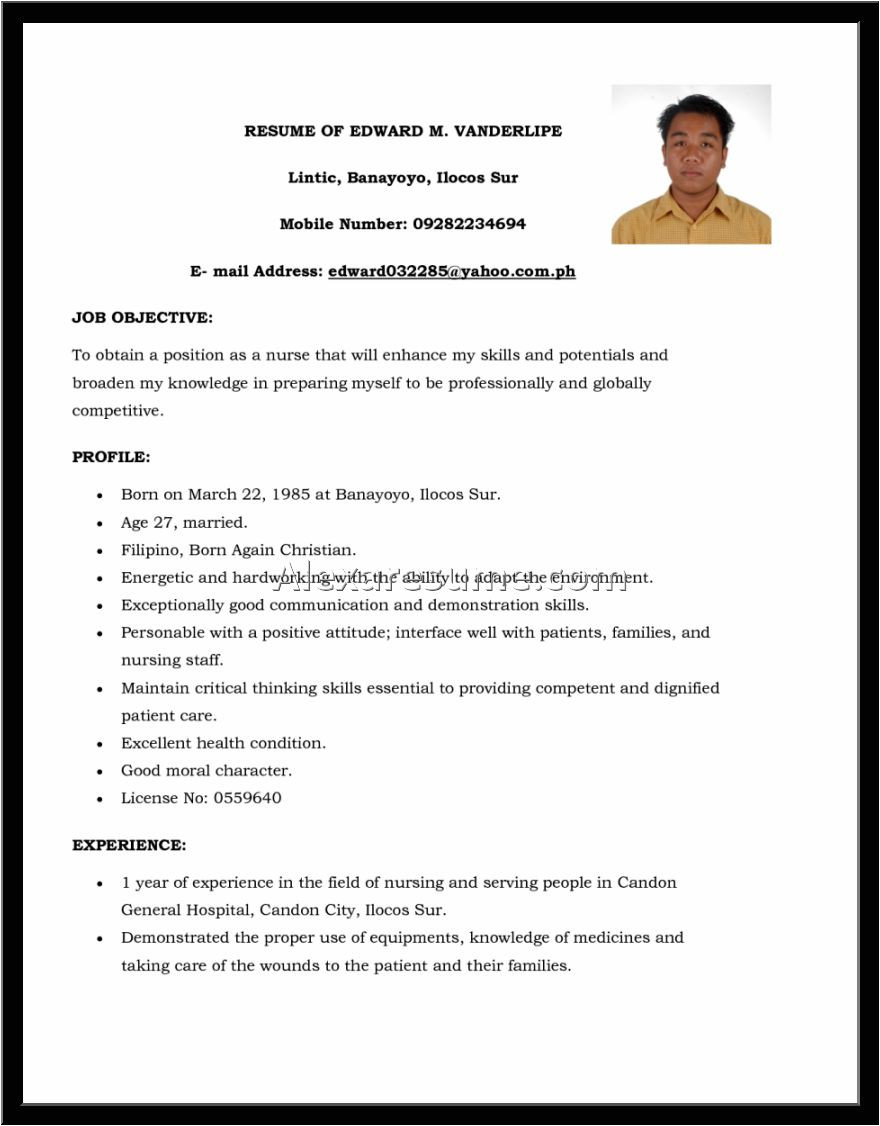 Sample Resume format for Call Center Agent without Experience Call Center Resumes Skills List Resume Sample for Agent