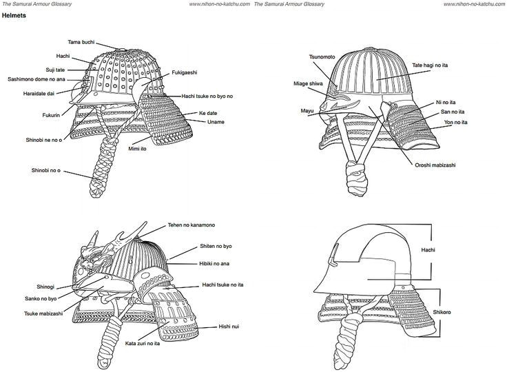 Samurai Helmet Template Kabuto Helmet Template Google Search Diy and Crafts