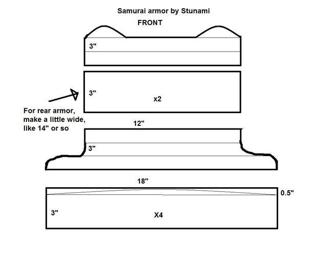 samurai helmet template
