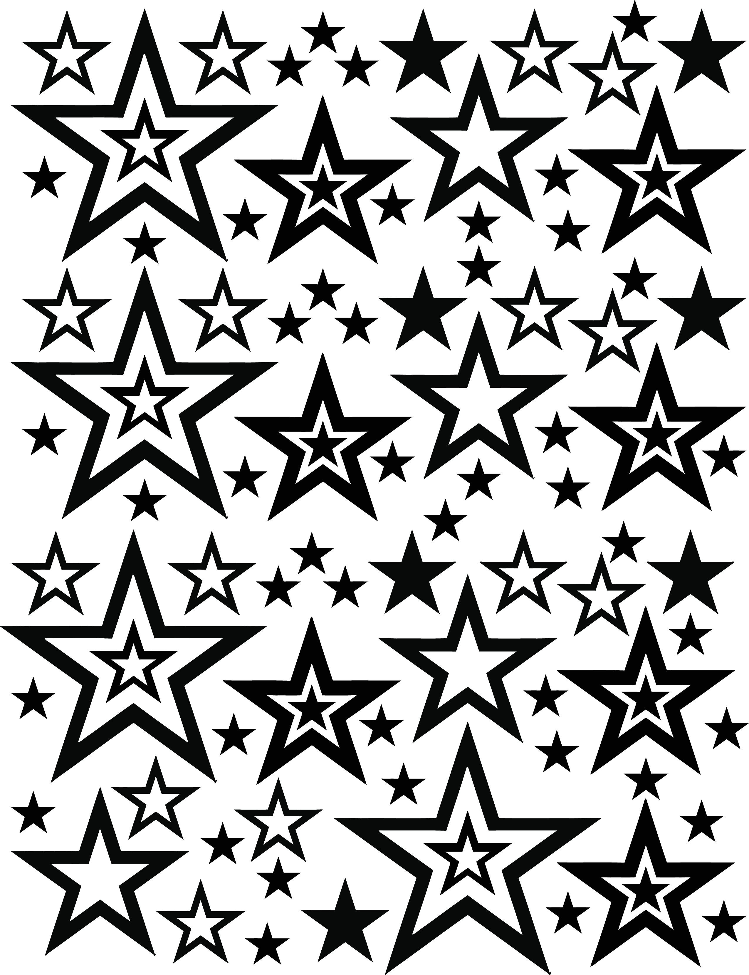 stars blasting stencils p 96213