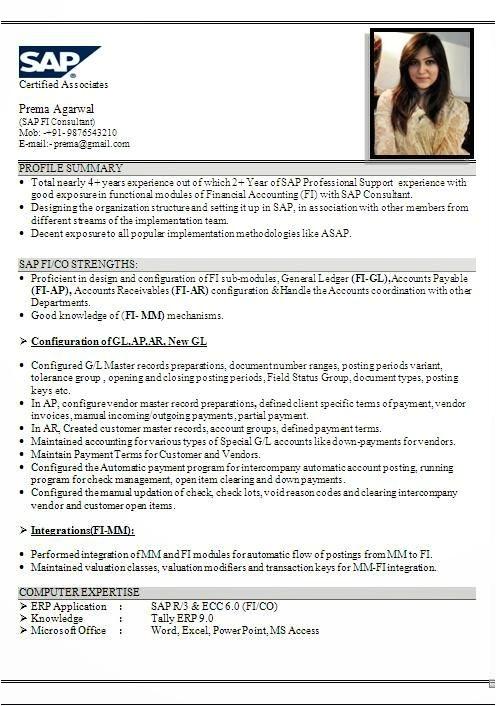 sap fico resume sample 18 peachy design 11 nardellidesign com