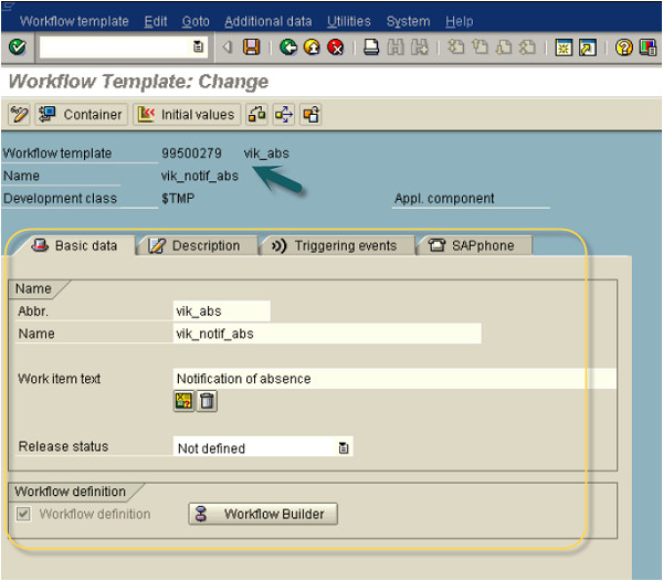 Sap Workflow Template Sap Business Creating Workflows