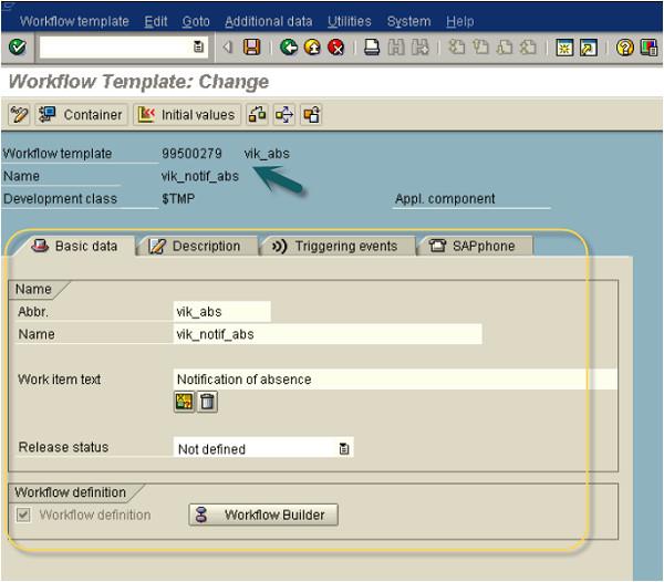 Sap Workflow Template Sap Business Creating Workflows
