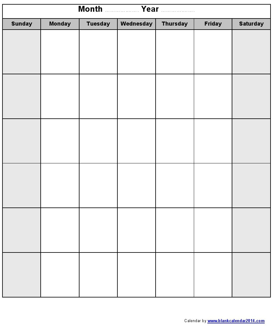 Saturday to Friday Calendar Template Printable Sunday Through Saturday Calendar Calendar