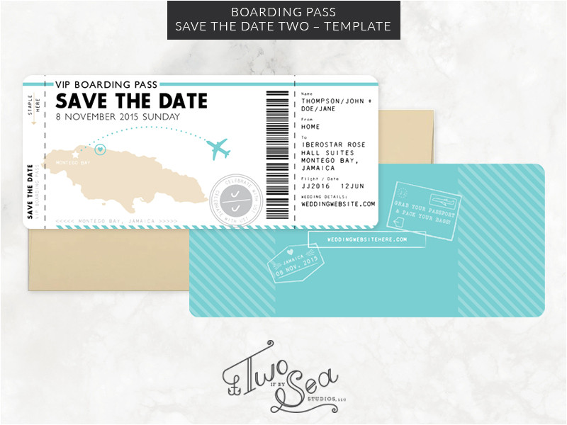 241438 boarding pass save the date template