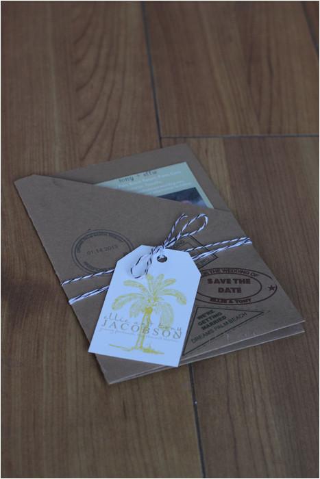 Save the Date Passport Template Our Diy Kraft Paper Passport Invites Diy forum Passport