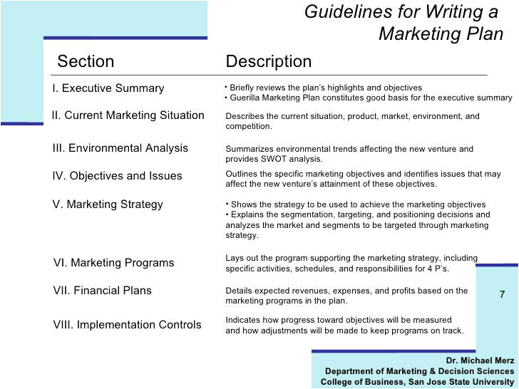 how to write guidelines template