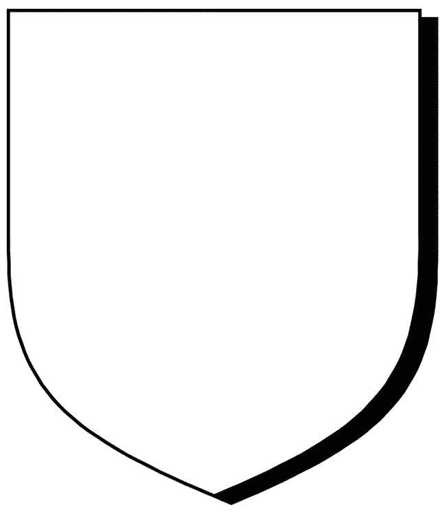School Shield Template Blank Crest Shield Template Our Home School Pinterest