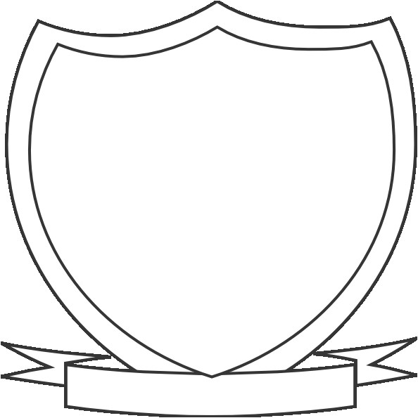 shield outline coat arms